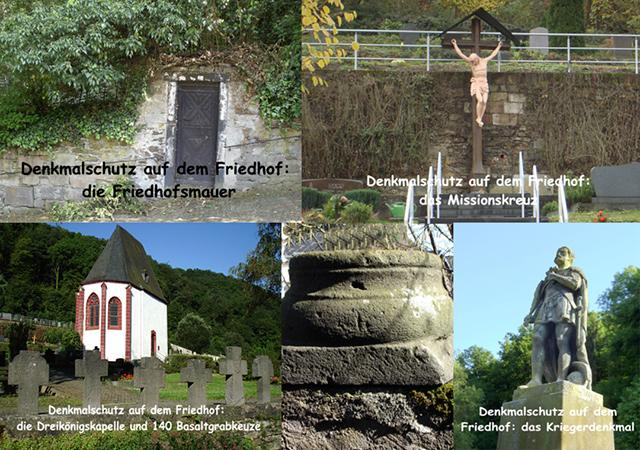 Denkmalschutz und Denkmalpflege Friedhof Kobern