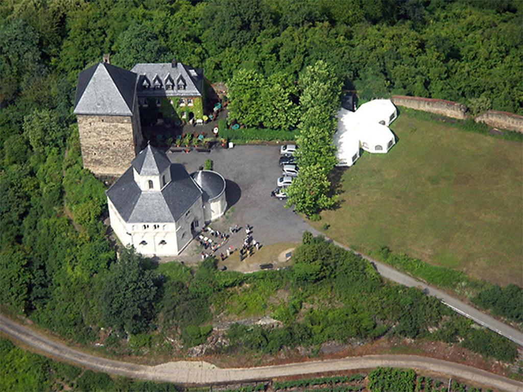 Führung an der Koberner Oberburg und St. Matthiaskapelle – Baugeschichte und Kunsthistorie