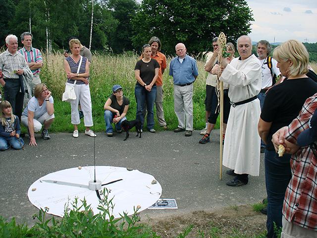 Führung am Goloring – Veranschaulichung des keltischen Kalendariums